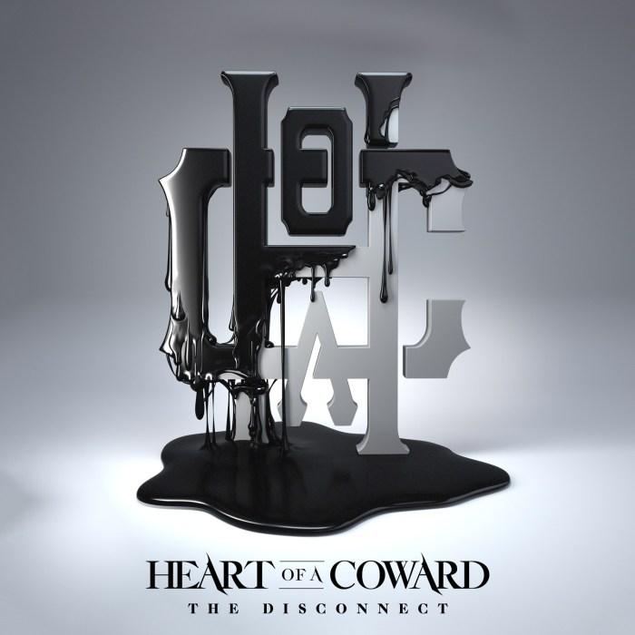 Heart Of A Coward - The Disconnect Album Cover